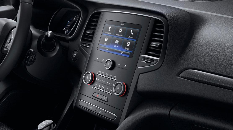 """Bluetooth® rádió 2 USB, Jack, 7"""" kapacitív érintőképernyő, Arkamys® hangrendszer"""