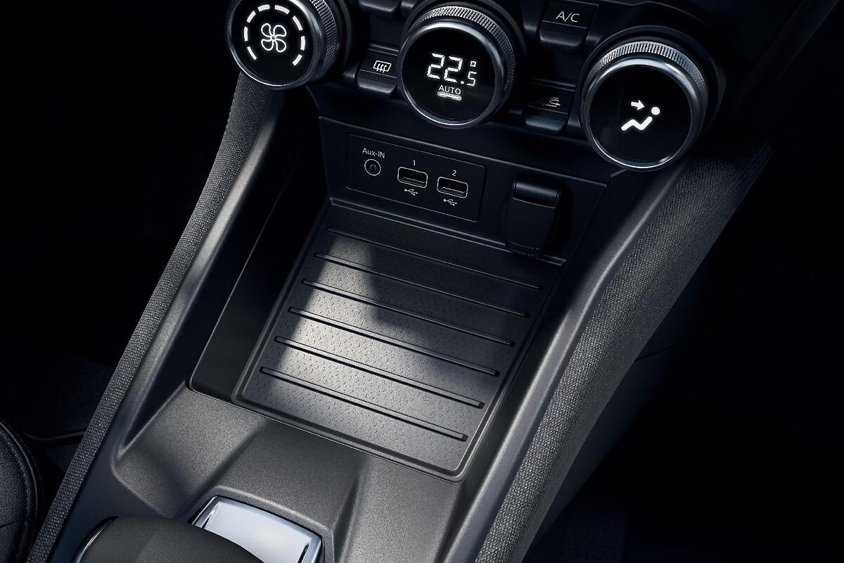 Zwei-Zonen-Klimaautomatik mit Funktionen Soft-Auto-Fast