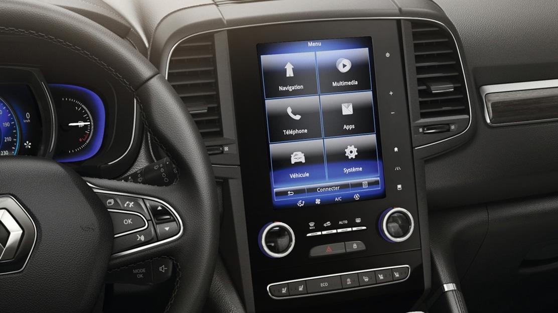 Online-Infotainmentsystem Renault R-LINK 2 mit 8,7-Zoll-Touchscreen und BOSE-Audiosystem