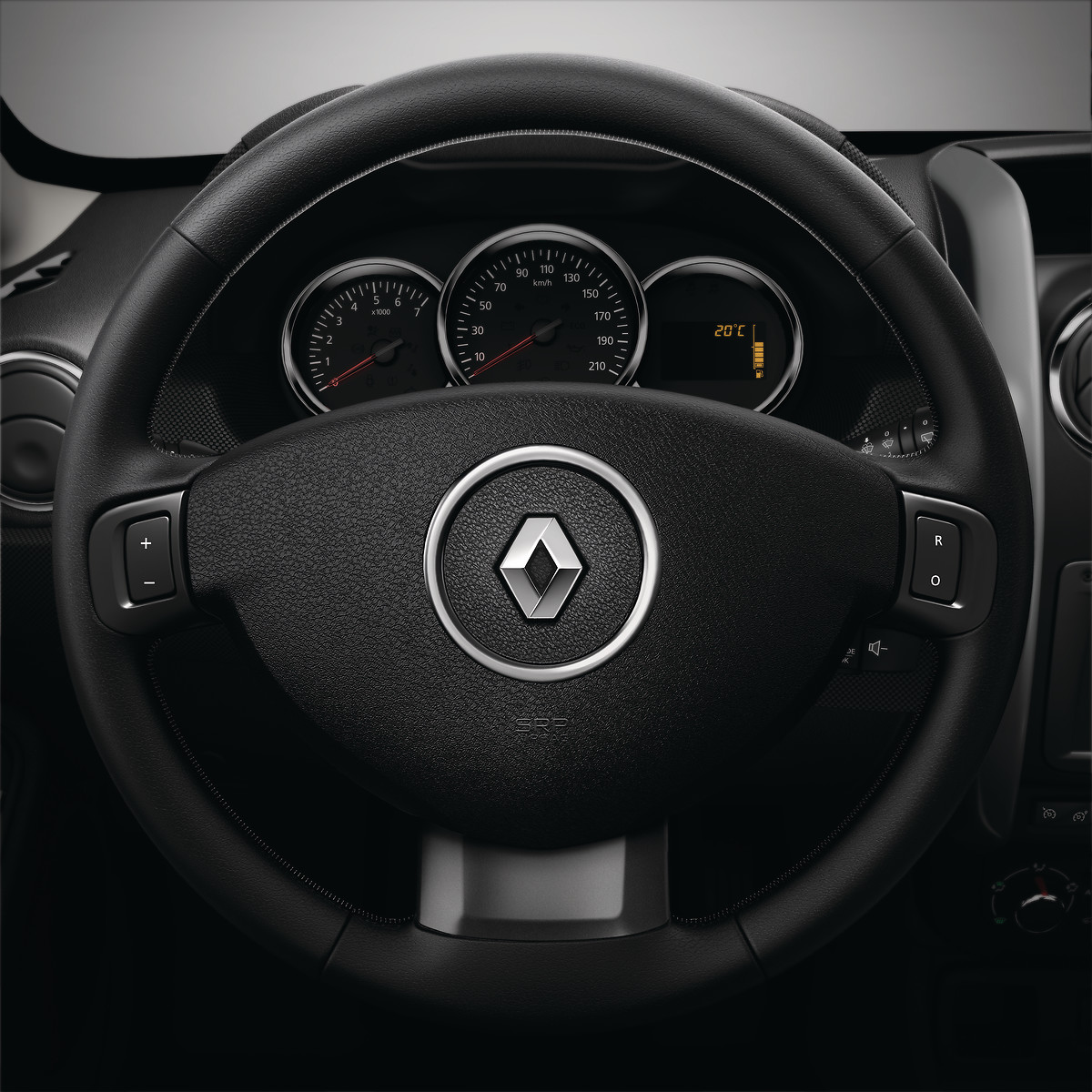 Управління магнітолою на рульовій колонці