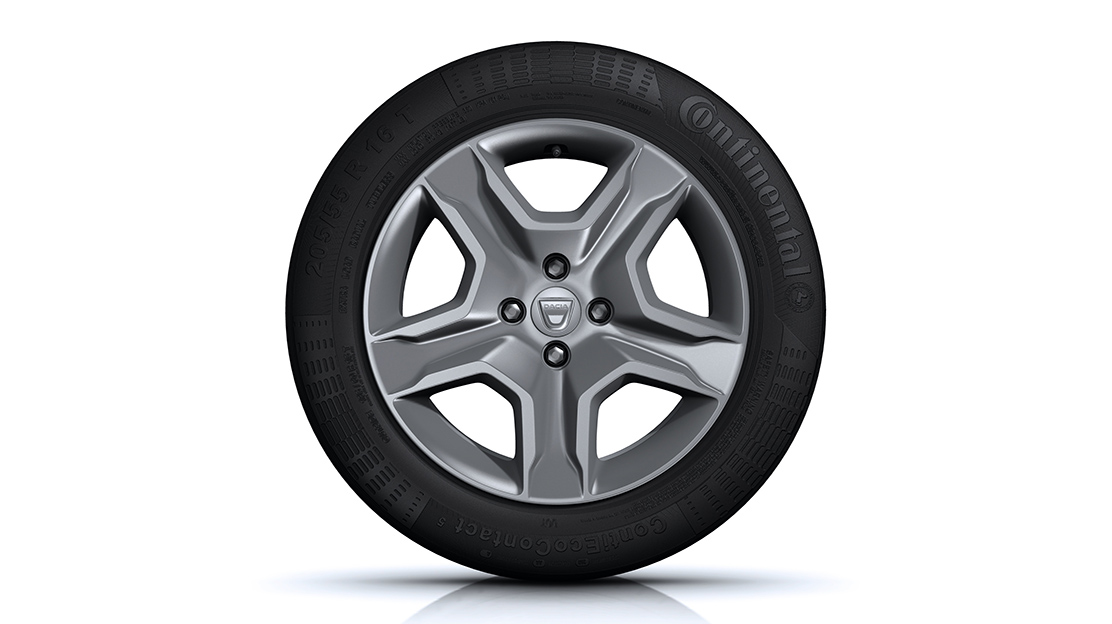 "Design de jantes 16"" Flexwheel Dark Metal"
