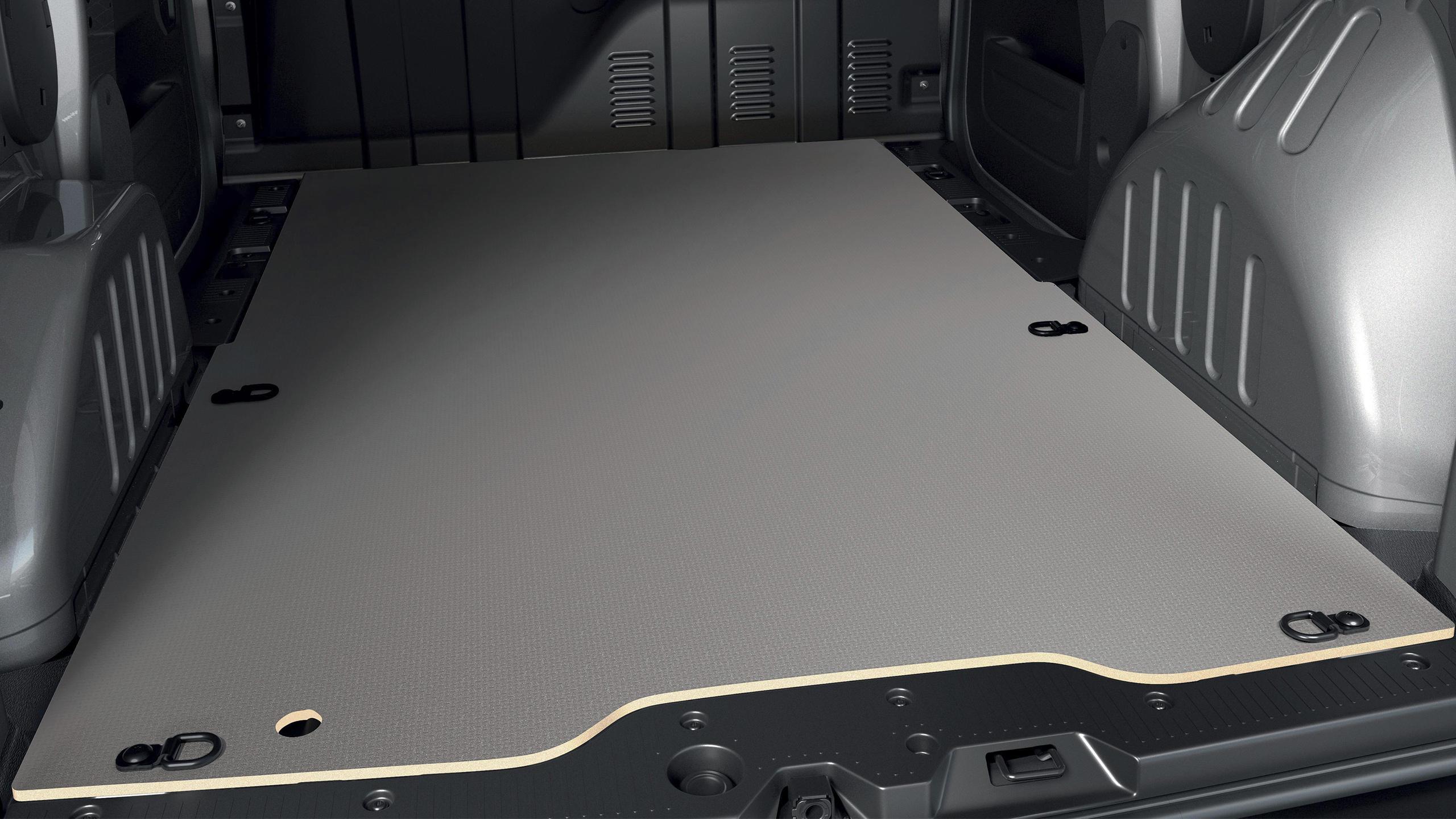 Pachet protectie zona cargo - protectii de lemn pentru podea si pereti laterali