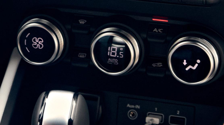 Automatische Klimaanlage mit Staubfilter