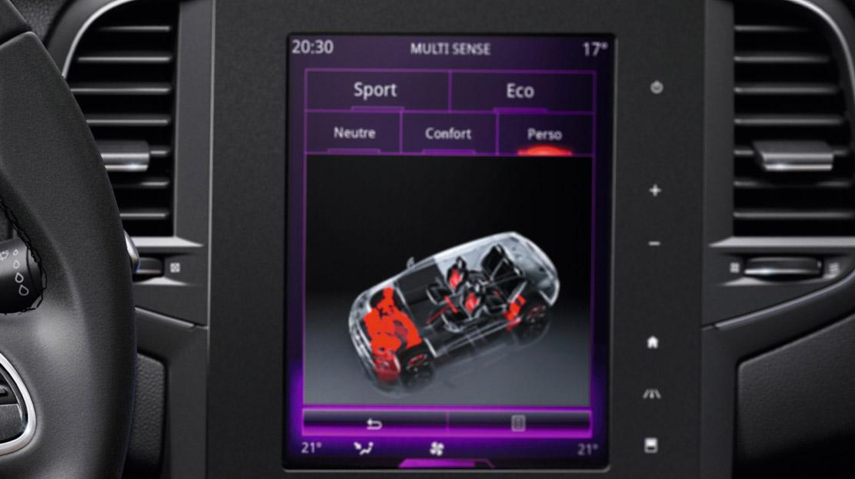 Systém Renault Multi-Sense
