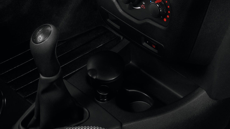 12-V-Steckdose in der Mittelkonsole