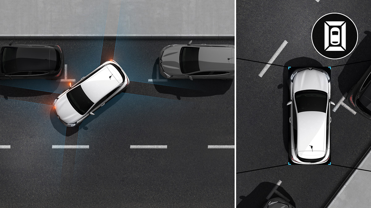 Pack City Plus (Aide au parking avant et Caméra de recul, Rétroviseurs ext elect. et dégivrants)