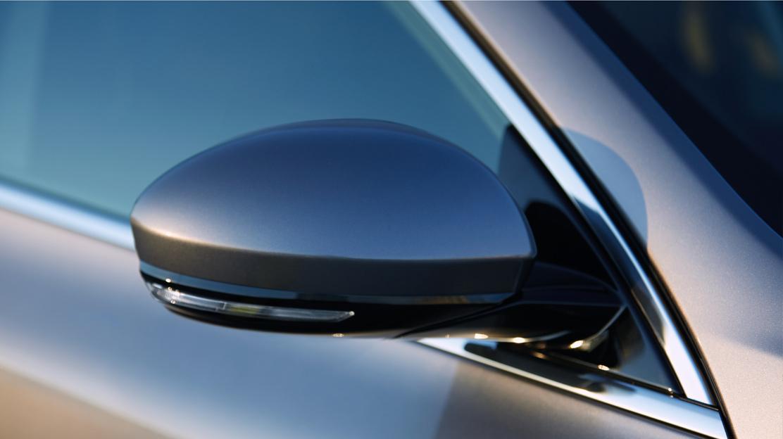 Elektromosan álíltható, fűthető külső tükrök