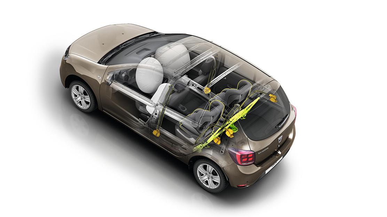 Airbags laterais dianteiros