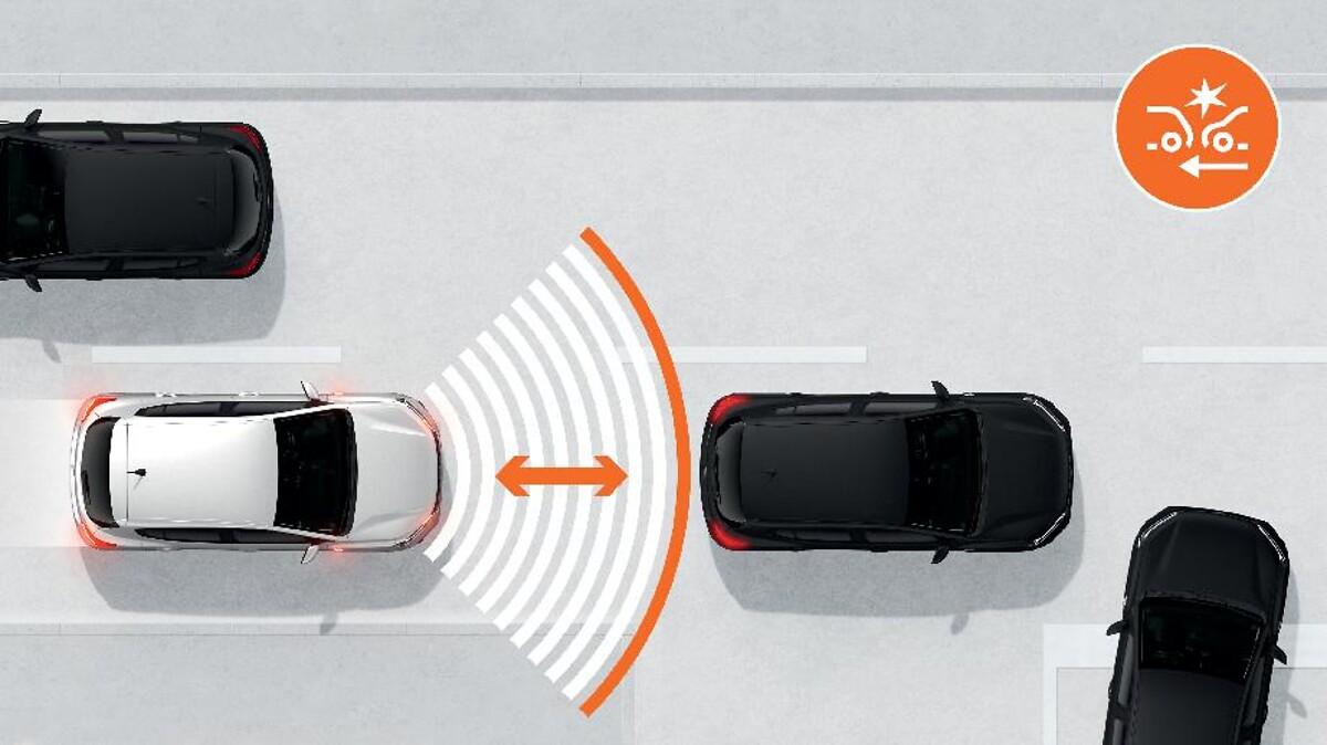 Assistance au freinage d'urgence + allumage des warnings