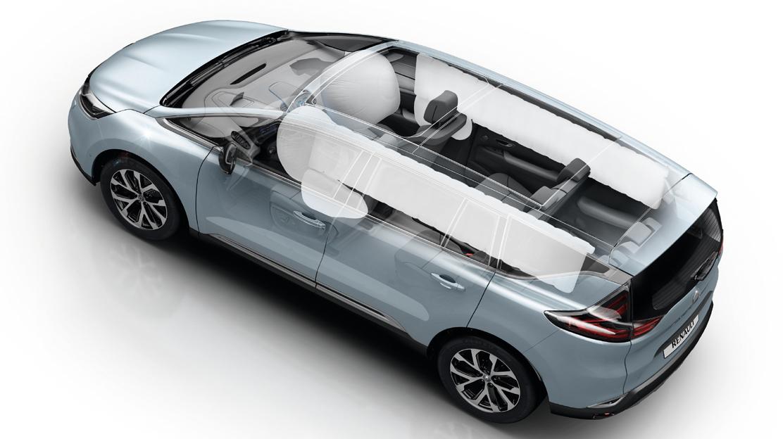 Airbags laterales cadera/ tórax de conductor y pasajero delantero