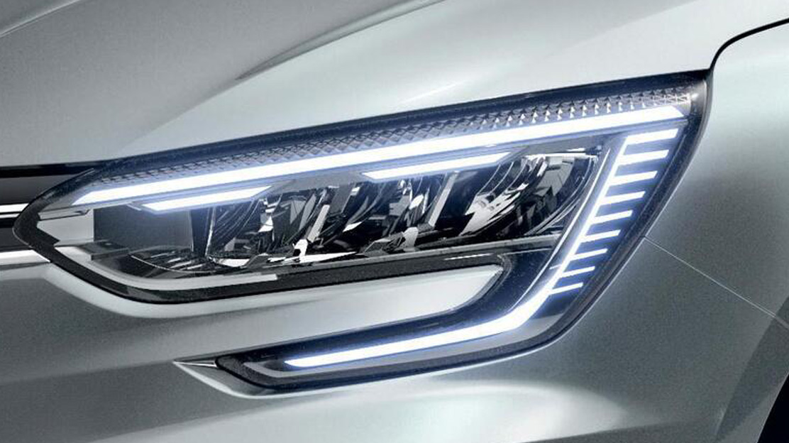 Voll-LED-Scheinwerfer LED Pure Vision