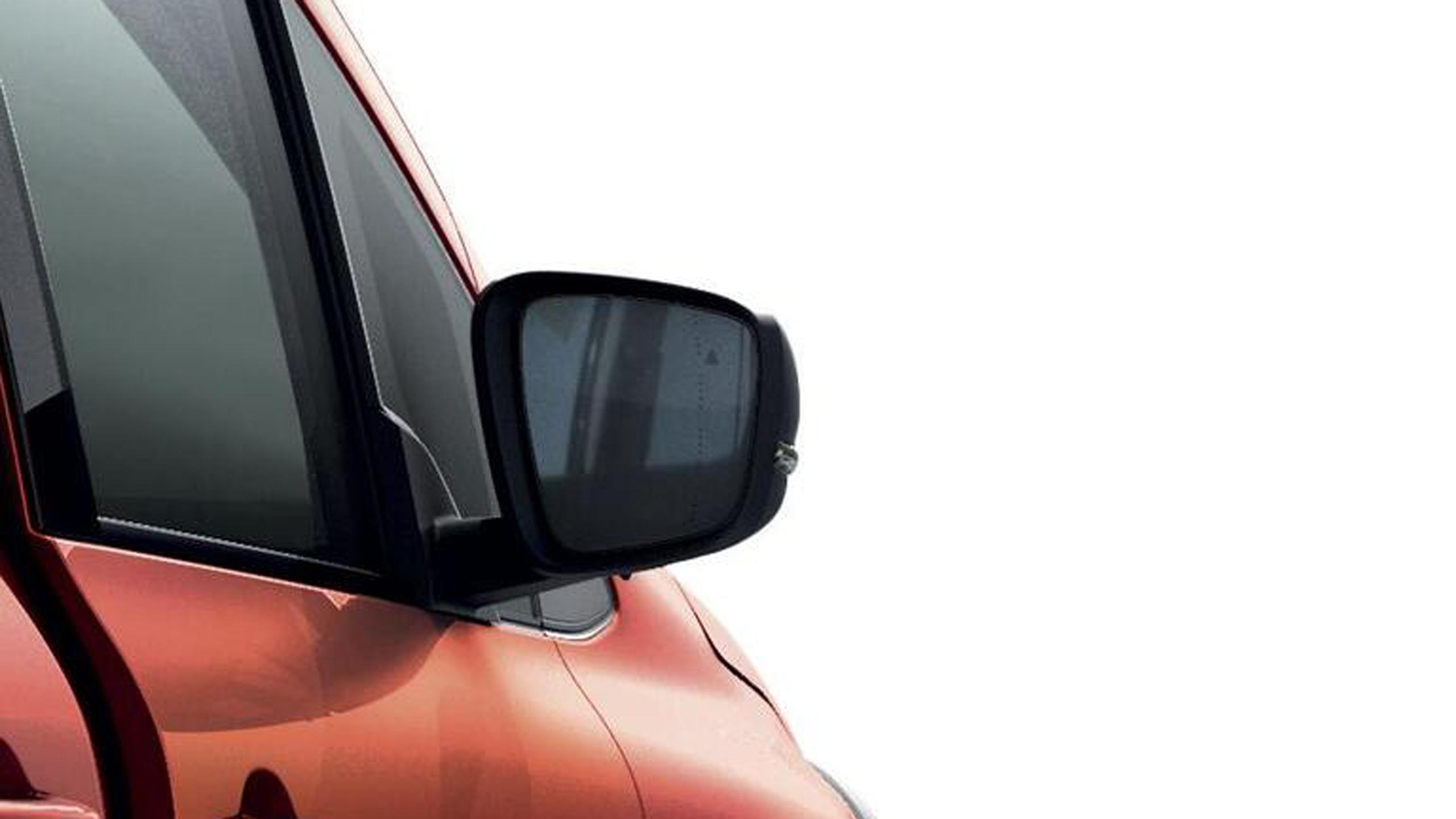 Außenspiegel elektrisch einstell-/ beheizbar und elektrisch anklappbar