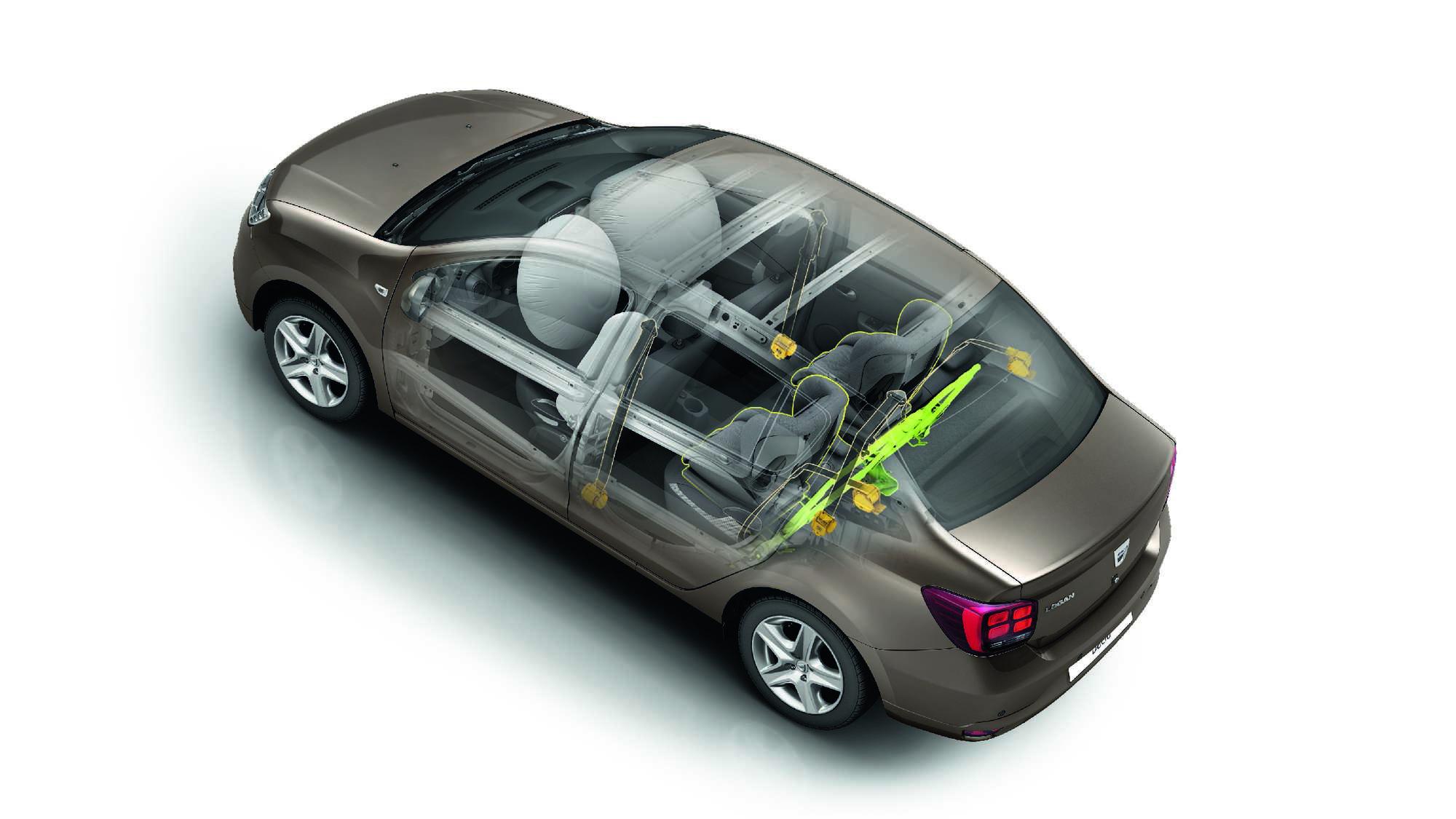 Varnostna blazina za voznika in sovoznika
