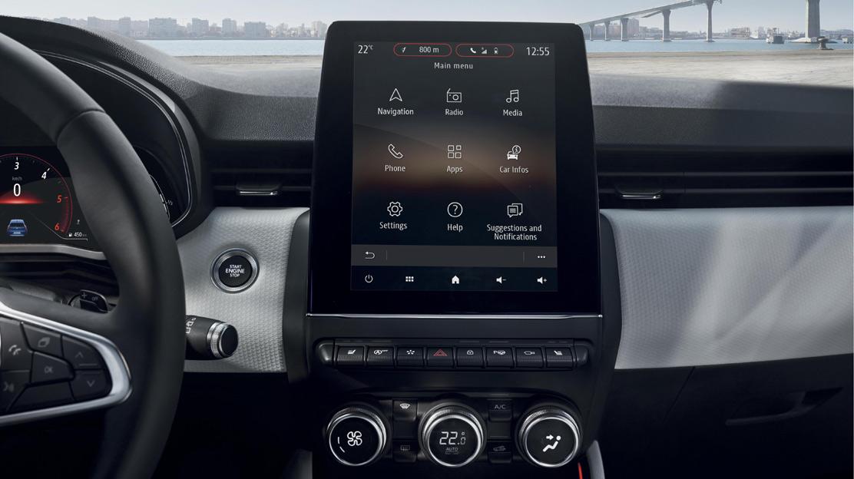 Renault EasyLink: système multimédia avec écran couleur tactile 10
