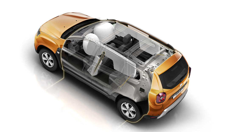Fahrer- und Beifahrerairbag