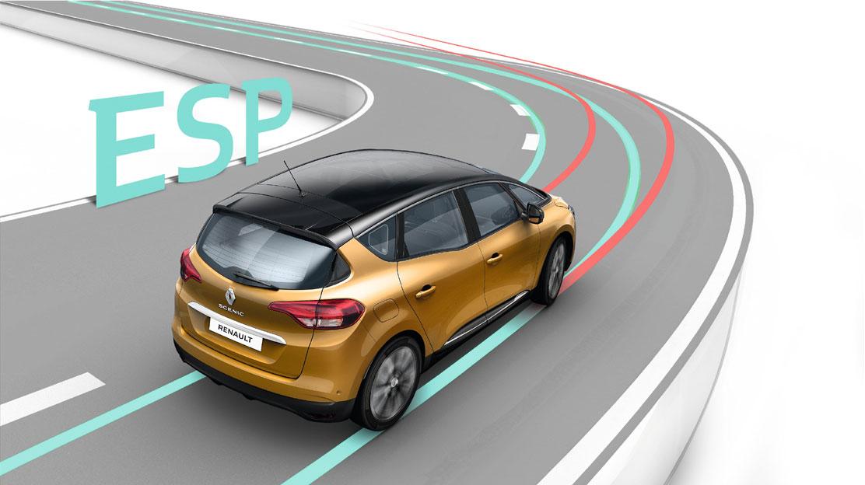 system dynamicznej kontroli toru jazdy (ESC)