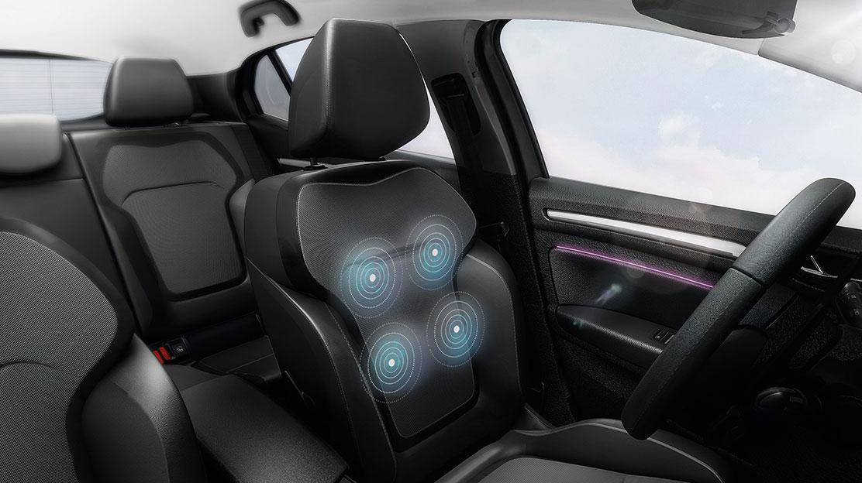 Сидіння водія з електрорегулюванням в поперековій зоні і функцією масажа + кишені на спинках передні