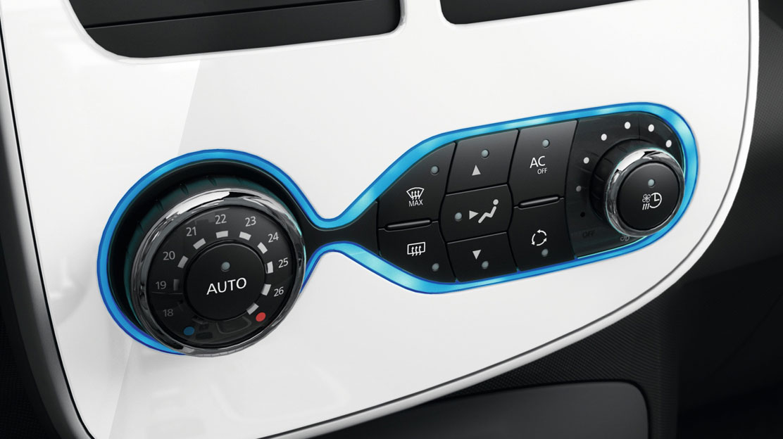 Climatizzatore automatico bizona con funzione Soft-Auto-Fast