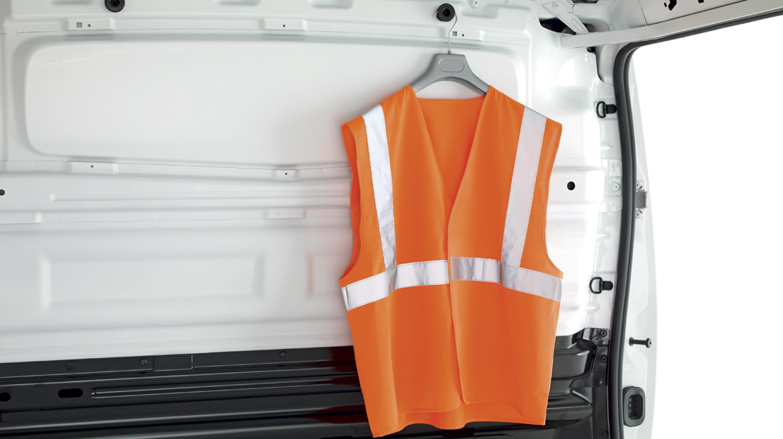 Coat hooks x2 - (load area, on bulkhead)
