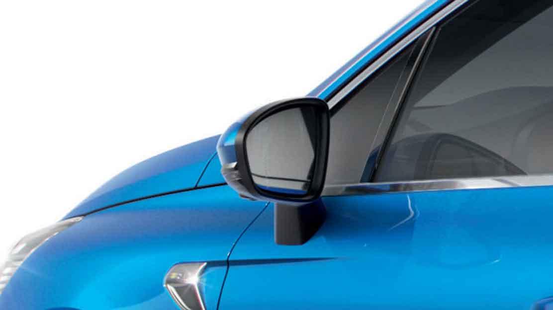 Elektrisch inklapbare en verwarmde buitenspiegels