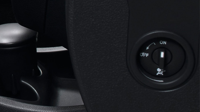 Zij-airbags (alleen i.c.m. airbag passagier)