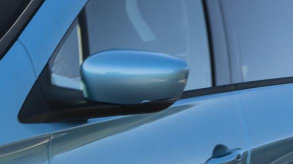 Buitenspiegelkappen in carrosseriekleur