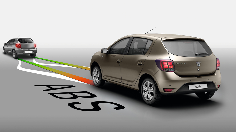 Protiblokovací systém brzd (ABS) pomáhá zabránit zablokování kol v případě náhlého brzdění. Díky tomu budete mít kontrolu nad řízením.