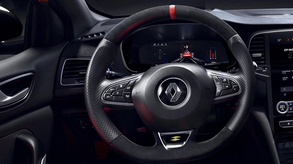 Full leather RS Steering wheel
