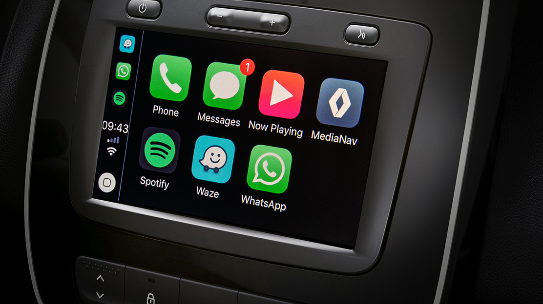 MEDIA Evolution com Android Auto® e Apple CarPlay®
