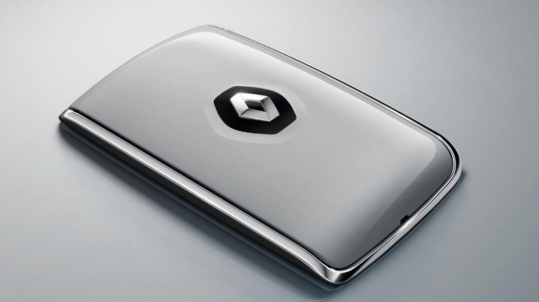 Carte Renault d'entrée et de démarrage mains libres