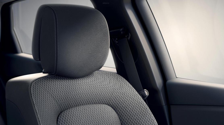 Seitenairbags vorne und Window-Airbags für die 1. und 2. Sitzreihe (Außenplätze)