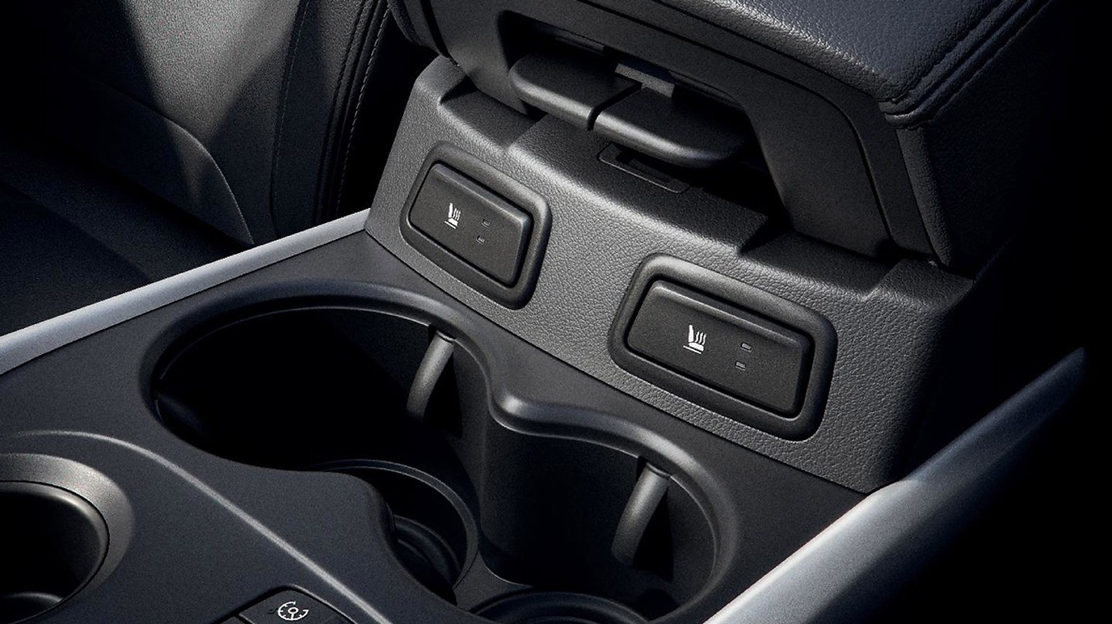 Heated Seats(only available when ordered with Leather upholstery
