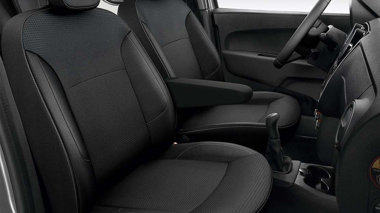 Fahrersitz, höhenverstellbar