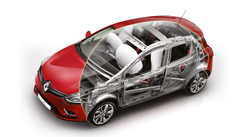 Airbags frontais condutor e passageiro (cabeça e tórax)