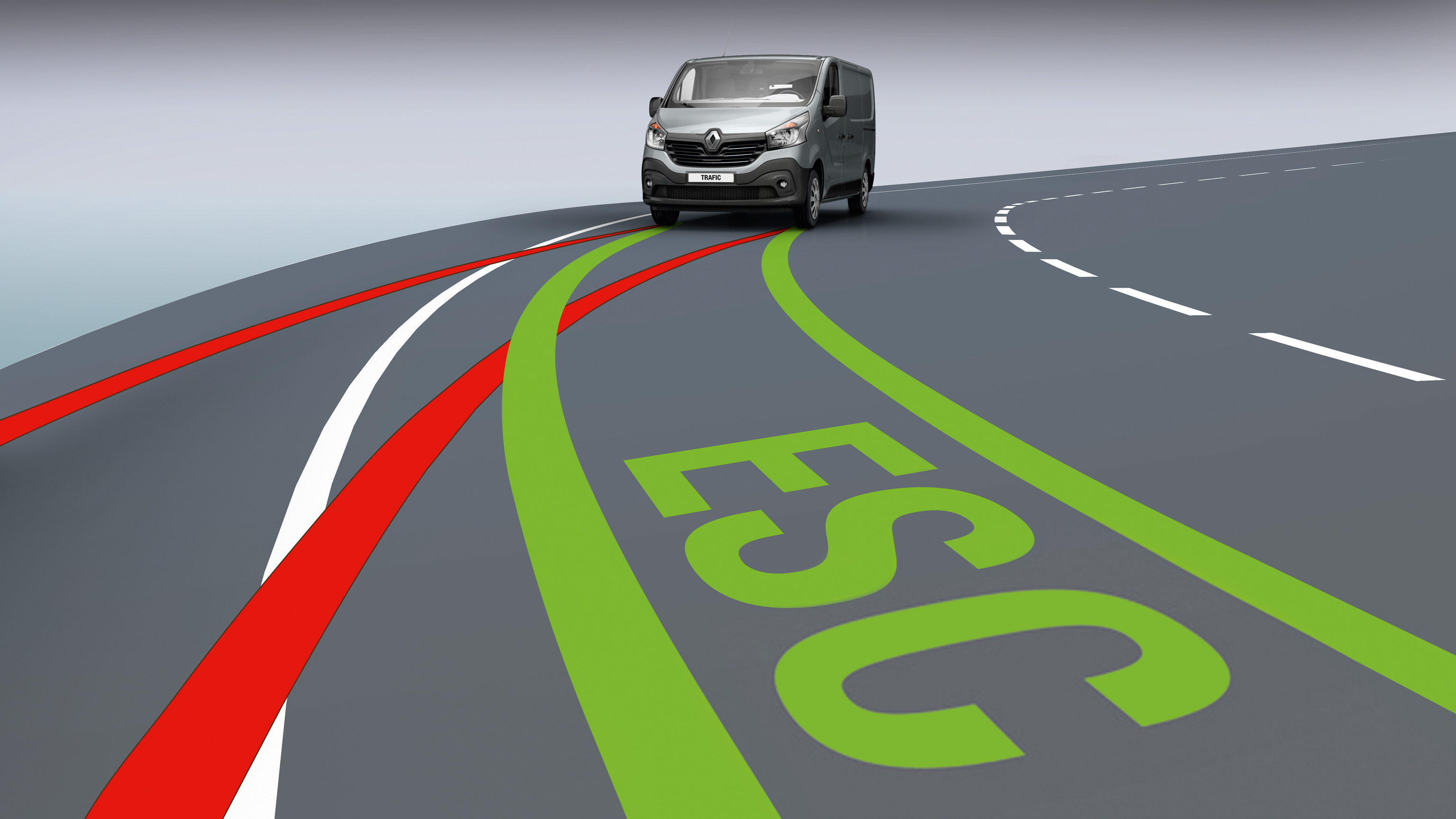 ESC (Electronic Stability Control) with Hill Start Assist and Grip Xtend
