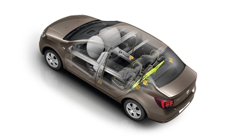Airbag frontal condutor e passageiro