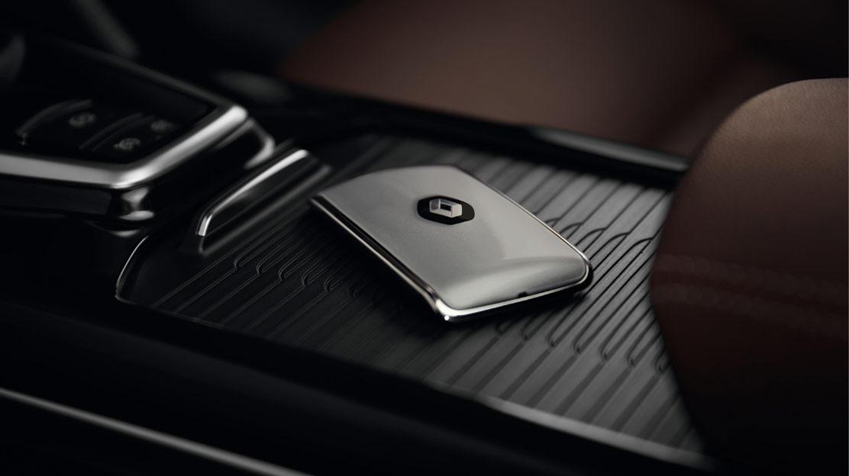 Renault-Chipkarte Keyless-Drive Hands-free