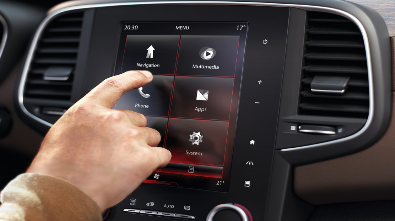 """R-LINK 2 : système média multifonctions avec écran tactile 8.7"""""""