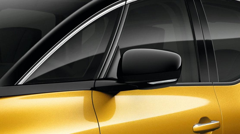 Außenspiegel in glanzschwarz (bei Métallisée-Lackierung Black-Pearl in Cassio-Grau)