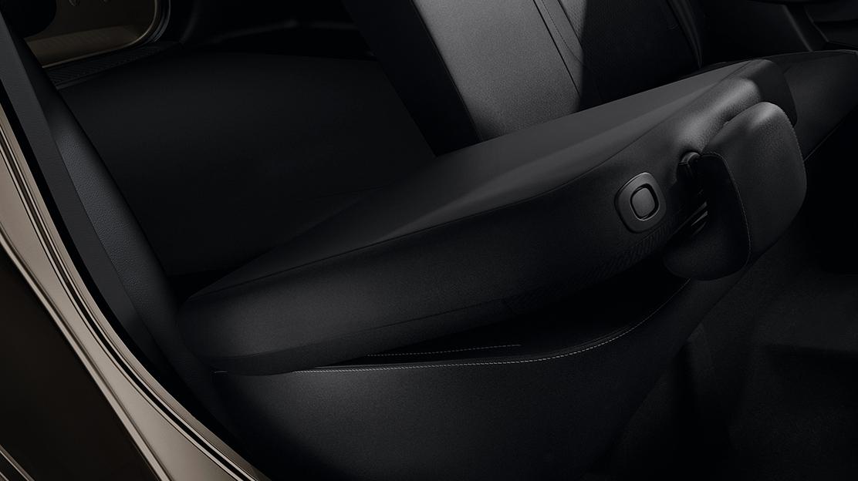 60/40 split folding rear seat