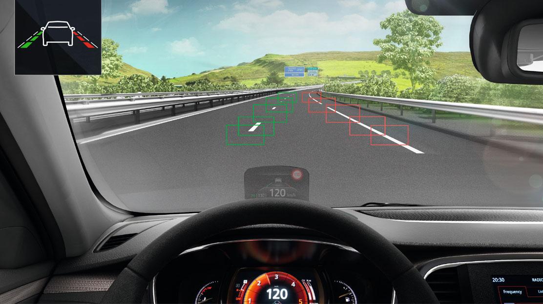 LDW - sustav upozorenja o promjeni voznog traka
