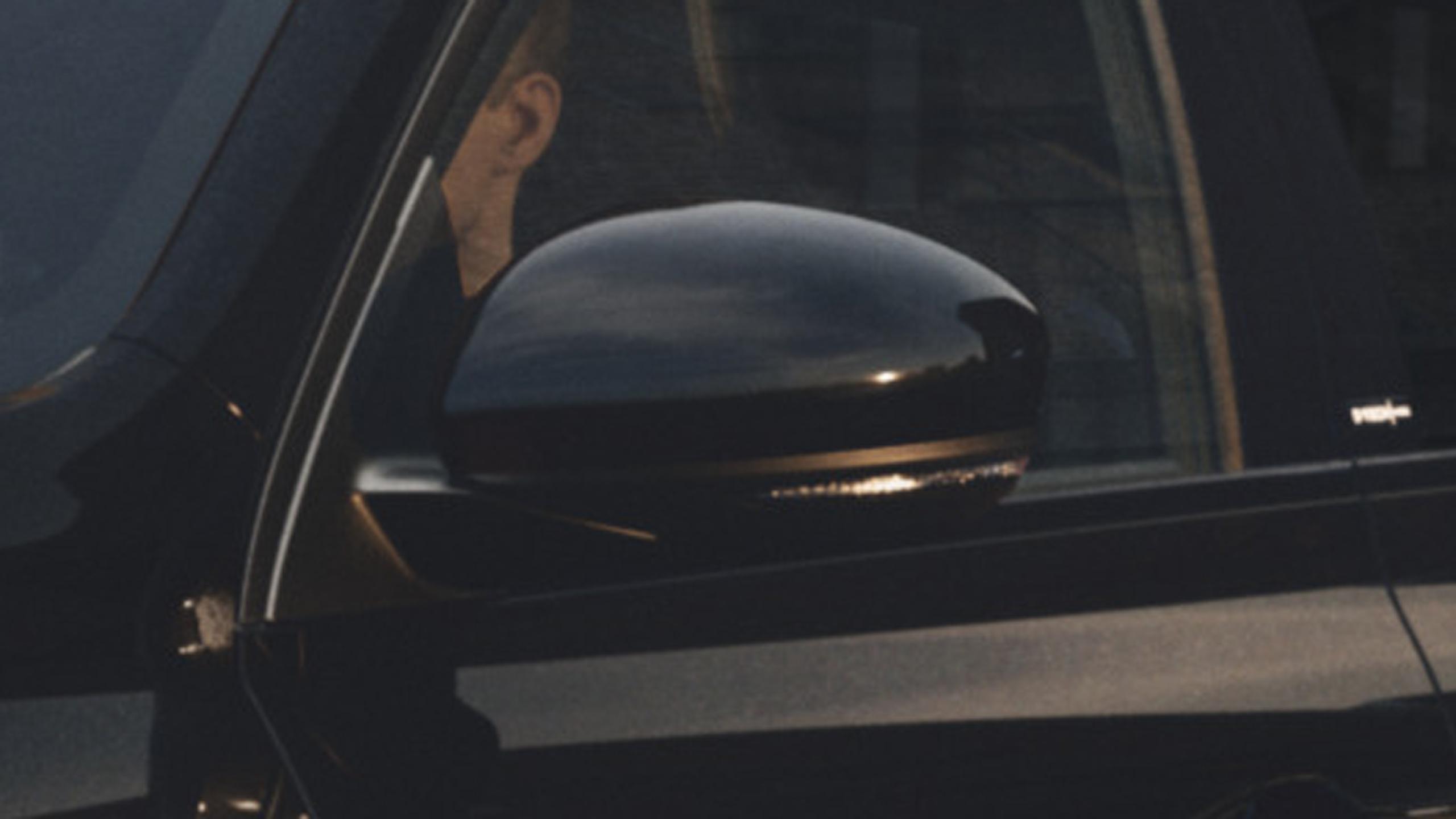 Body coloured rear-view mirros