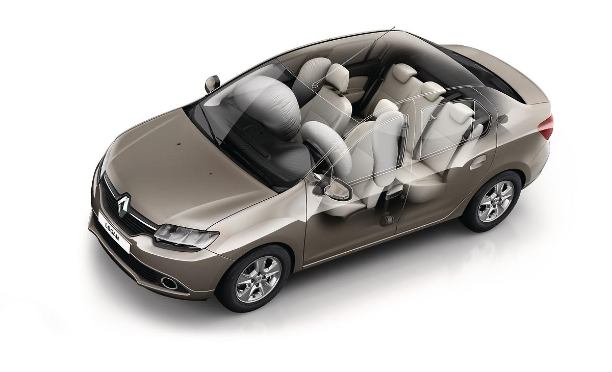 Передні бокові подушки безпеки водія та переднього пасажира