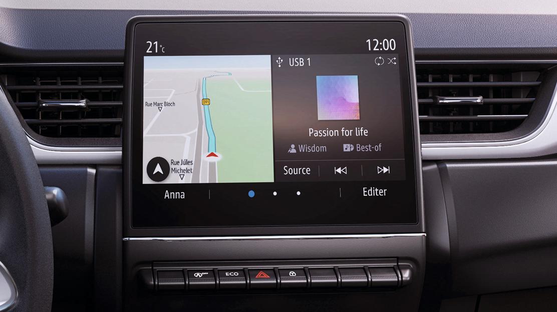EASY LINK conectado con pantalla táctil de 17,8cm (7