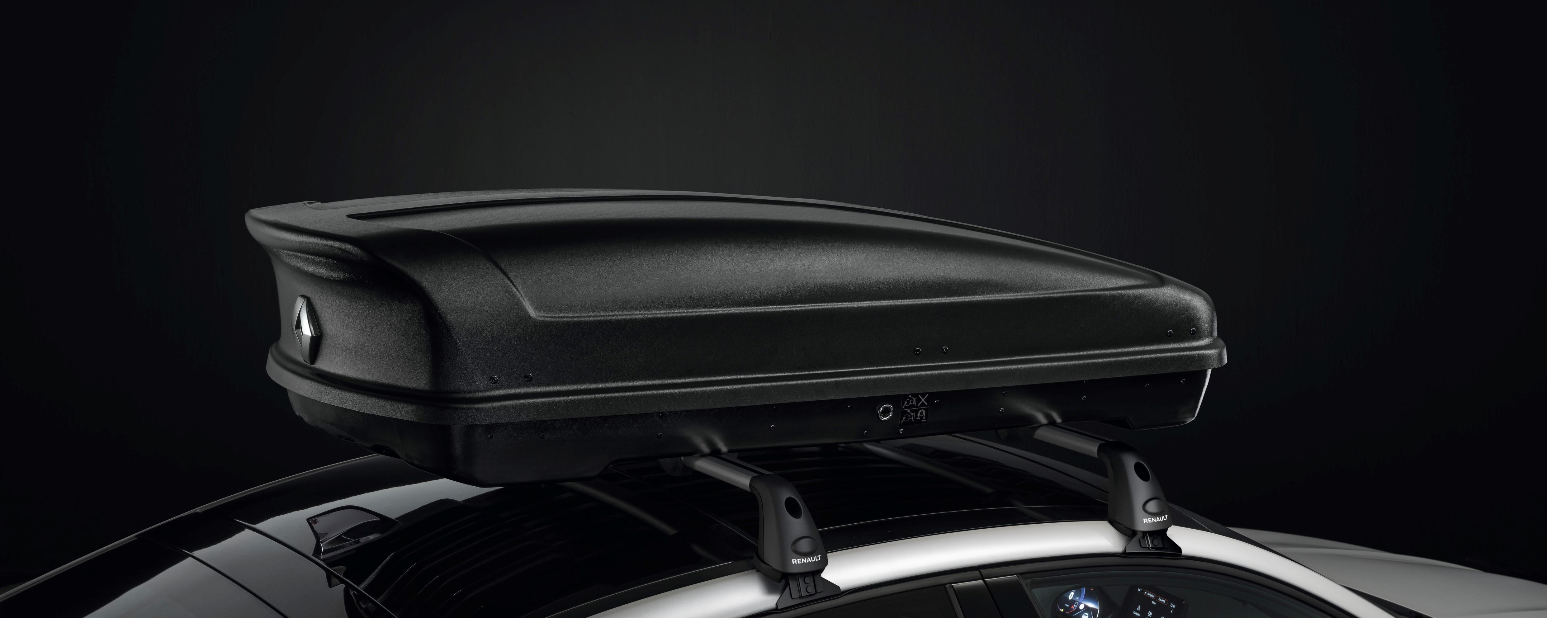 Strešni prostor Renault – 380l – matirana črna