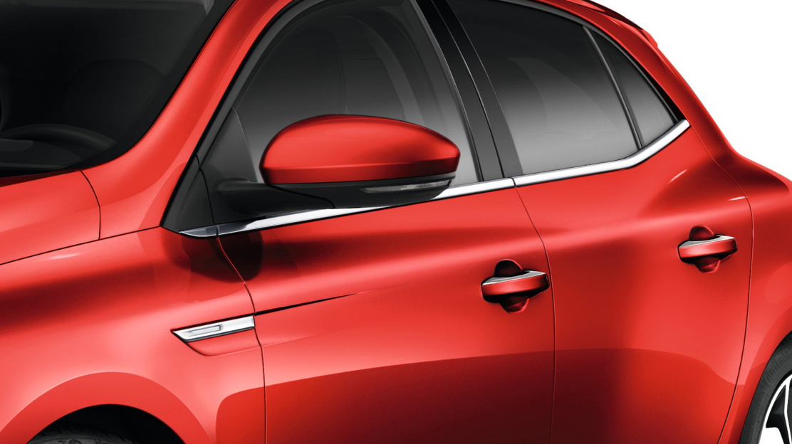 Electrically adjustable,heated and folding door mirrors