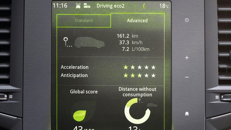 Funkcija načina vožnje ECO