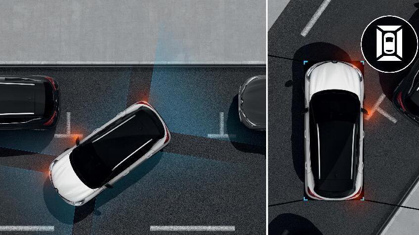 Senzori de parcare fata, spate