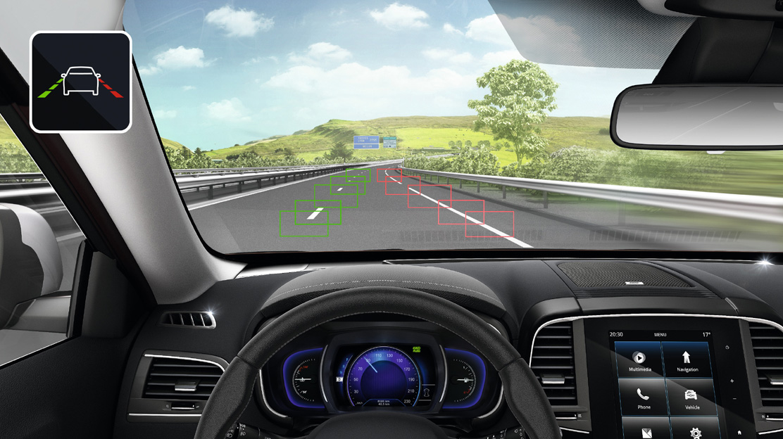 Sistem LDW - opozorilnik nenamerne menjave voznega pasu