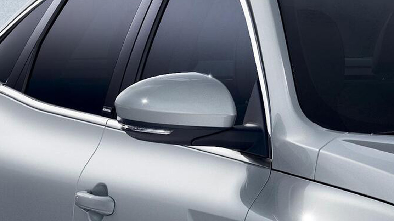 Elektrisch verstelbare, verwarmbare en inklapbare buitenspiegels met geïntegreerd knipperlicht met g